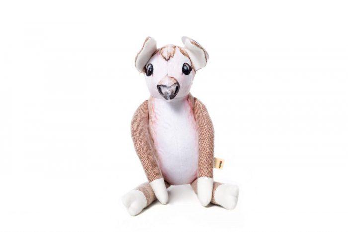 Maple forest knuffel hert super zacht en eco vriendelijk materiaal handgemaakte knuffels