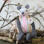 egel knuffel van maple forest eco vriendelijk materiaal en super zacht hand gemaakt