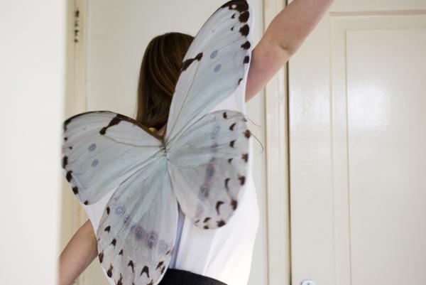 Vleugels Bath White, Spread your Little Wings