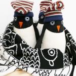 muziekdoosje in de vorm van een pinguïn van het merk esthex