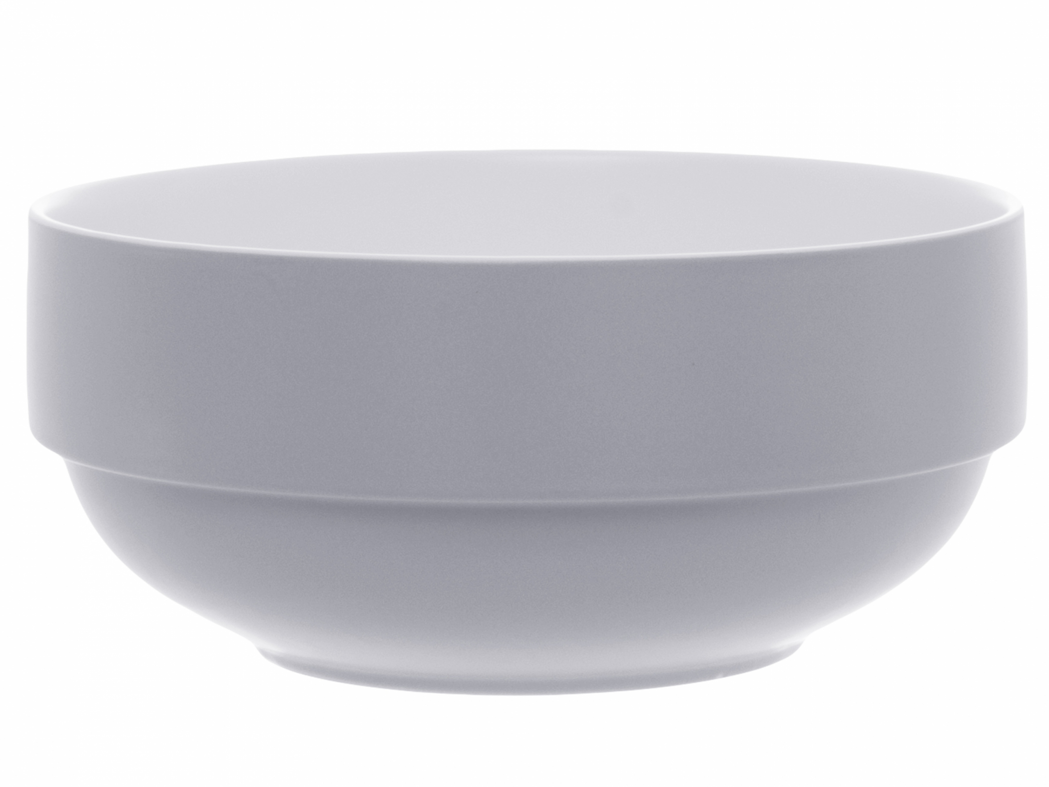 Salad bowl Blush mouse gray porselein pt