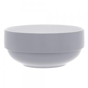 Salad bowl Blush mouse gray porselein pt