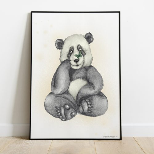 Poster baby panda