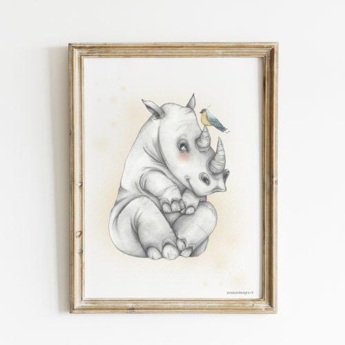 baby Rhino poster