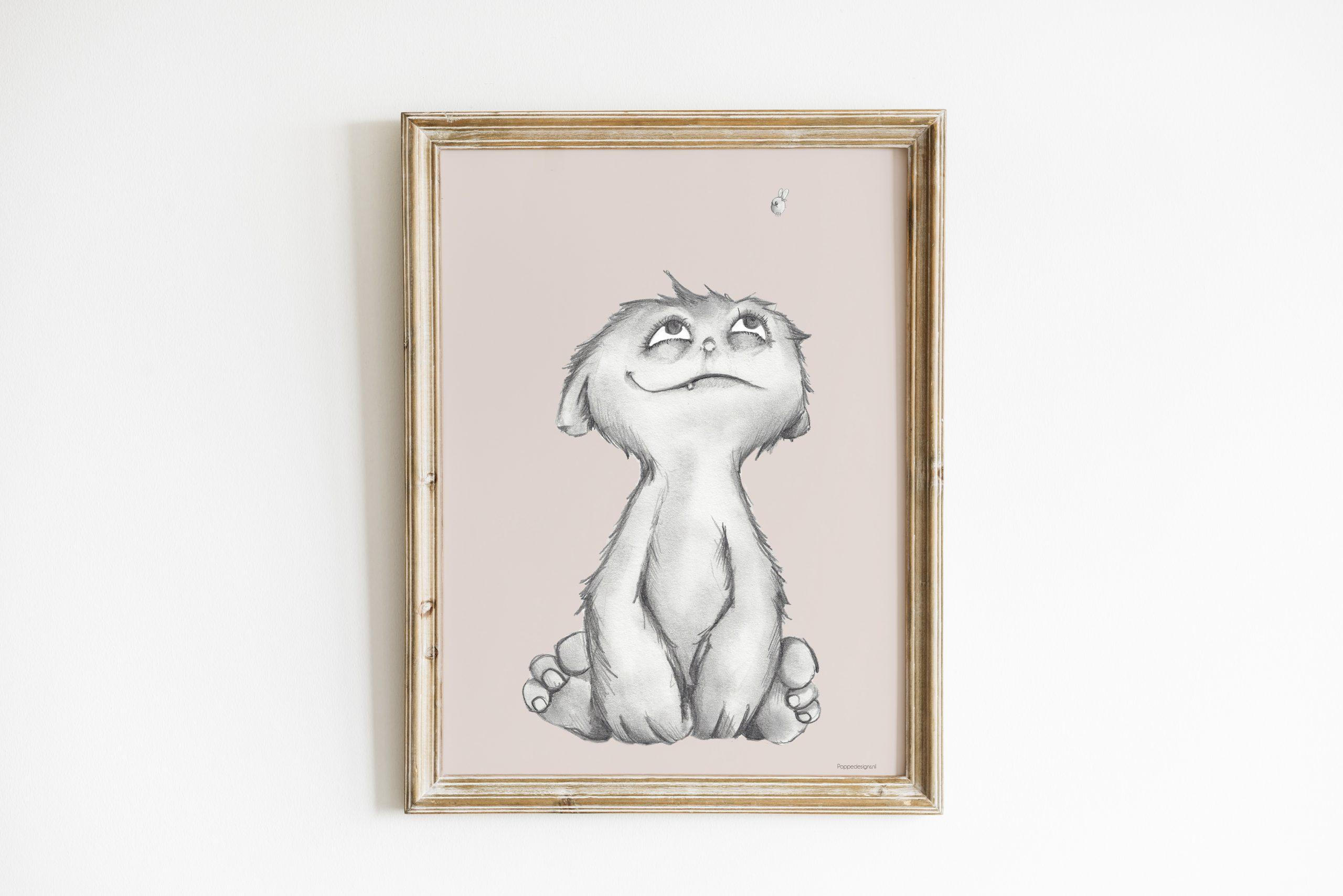 Poster Little monster