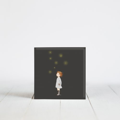 Sier tegeltje met sterren